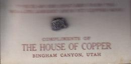 The Housse Of Copper Mine - Utah - Lot N° 3822 - Minéraux