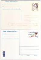 Italia 1999 2009 2 Cartoline Postali Nuove Donne Nell'arte Lucrezia Panciatichi Valore Euro+lira E Posta Italiana - 6. 1946-.. Republic