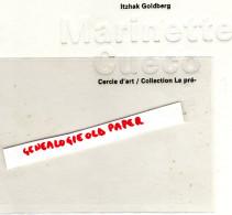 19 -ARGENTAT -MARINETTE CUECO-PAR ITZHAK GOLDBERG-EVELYNE ARTAUD-CERCLE D' ART-PARIS-1998-TRESSAGE PLANTES-GRAINES-FLORE - Art