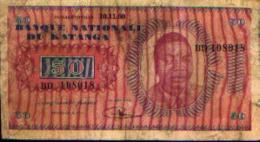 KATANGA - 50 Francs 10.11.60 - République Démocratique Du Congo & Zaïre