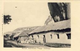 ANGOLA, PUNGO ANDONGO, Missão Americana, 2 Scans - Mosambik