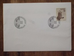 SWEDEN 1972 ROE DEER  FDC - Briefe U. Dokumente