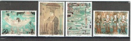 CHINE 1996, Fresques Boudhiques, 6 Valeurs, Neufs / Mint. R961 - 1949 - ... People's Republic