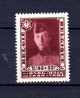 Prince Léopold  En Caporal Du 12° De Ligne, 325*, Cote 100 €, - Belgique