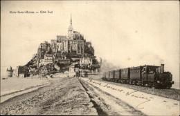 50 - LE MONT-SAINT-MICHEL - Train - Le Mont Saint Michel