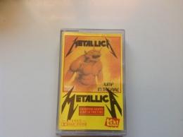 "METALLICA ""creeping Death / Jump In The Fire"" TAPE POLAND - Audiokassetten"