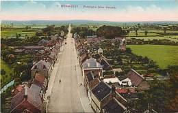- Depts Div.-ref-KK210- Nord - Wormhout - Panorama Vers Cassel - Carte Colorisee Bon Etat - - Wormhout