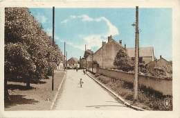 - Depts Div.-ref-KK194- Nievre - Cours Pres Cosnes - Grande Rue - Carte Bon Etat - - Autres Communes