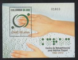HF78-KOLUMBIEN / COLOMBIA.-S/S.- MI: BLOCK  79- 2012.- MNH .-.  BRAILLE SYSYTEM - Colombie