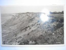 ANGLETERRE - CPA -  BELTINGE - The Cliffs - Belle Carte Photo Peu Commune - England