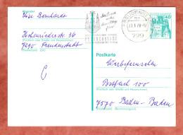 Ganzsachenkarte, MS Freudenstadt UB: Me, 1978 (31870) - [7] Federal Republic
