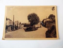 Carte Postale Ancienne : SAINT-JUST SUR LOIRE : Les Bourrelières, En 1947 - Saint Just Saint Rambert