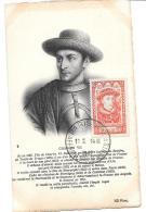 CARTE MAXIMUM...  CHARLES VII...N°770..  TBE..SCAN. - Maximum Cards