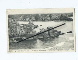 CPA -  Belle Isle En Mer - Les Rochers De Goulphar  (  Belle Ile En Mer ) - Belle Ile En Mer