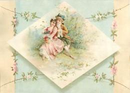 CHROMO - IMAGE  -  COUPLE - Trade Cards