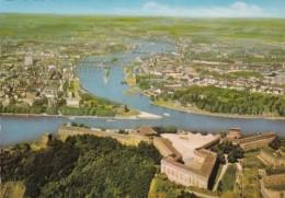 Germany Koblenz Festung Ehrenbreitstein und Deutsches Eck