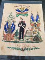 ?? VENTE ÉTÉ 1#LOT330: Lettre Soldat Illustrée Cantinière 1852 Sapeur Du Génie - France