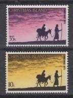CHRISTMAS Island  : 63-64 – Kerstmis Noel Christmas (1975) ** - Christmas Island