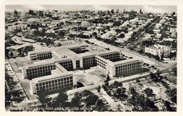 MOÇAMBIQUE, MOZAMBIQUE, LOURENÇO MARQUES, Vista Aérea Do Liceu Salazar, 2 Scans - Mosambik