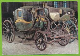 Compiègne Musée De La Voiture Berline Début Du XIXe Siècle Carrosse Carte Non Circulé - Taxi & Carrozzelle