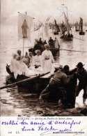 GUILLOU - Arrivèe Du Pardon De Sainte-Anne, Ankunft Eines Schiffes, Gel.1923 - France