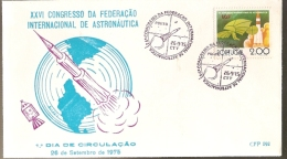 Portugal &FDC XXVI International Astronautical Congress, Porto 1975 (32) - FDC