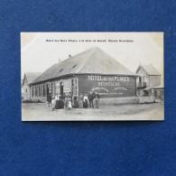 CPA-80-Hôtel Des Deux Plages, à La Gare De QUEND-Maison Neuvéglise-Animée - Quend