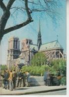 THEMES - CARTE A RELIEF - PARIS - Notre Dame Et La Seine - Cartes Postales