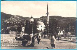 SARAJEVO ( Bosnia And Herzegovina ) * Not Travelled * Islam Religion Mosque Mosquée Mosques Moschee Mezquita Moschea AK - Islam