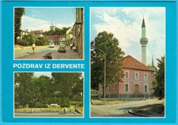 DERVENTA  ( Bosnia And Herzegovina )  * Travelled * Islam Religion Mosque Mosquée Mosques Moschee Mezquita Moschea AK - Islam