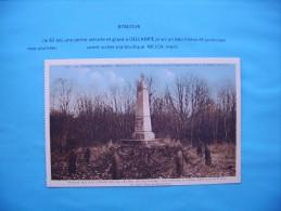 ((( Cp  Vue Generale Cpa  Bois De Beaumarais  Chemin Des Dames  02 - France