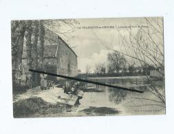 CPA - La Villeneuve En Chevrie - Laveuses Au Bord De L'étang - France