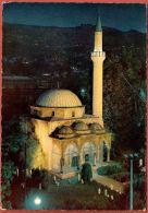 SARAJEVO - Mosque In Night ( Bosnia And Herzegovina ) Travelled * Islam Religion Mosquée Moschee Moschea Mezquita - Islam