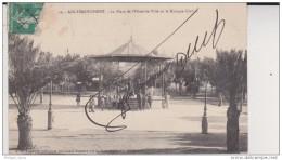 ALGERIE AIN TEMOUCHENT / Ain-Temouchement, La Place De L'Hôtel De Ville Et Le Kiosque Civil 2 Scan - Autres Villes
