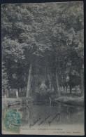 PONTCHARTRAIN, Allée De Chénnevières. Recto/VERSO.1904. - France