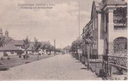 AK Truppenlager Ohrdruf I. Thüringen - Großherzog Von Sachsen-Straße - Feldpost - 1917 (24686) - Kasernen