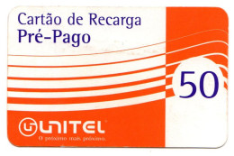 ANGOLA PREPAYEE UNITEL Année 2003