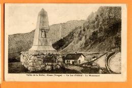 MAY-11 Commune De Seewen, Vallée De Doller, Lac D'Alfeld, Le Monument. Souvenir Excursion 28 Juin 1925 Banque Populaire - Other Municipalities