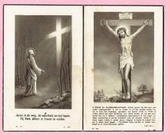 Bidprentje - Jozef Frans Maria VANDEVEN Wed. Rosalia VANDEWEYER - Geel 1878 - Geel Winkelomheide 1953 - Images Religieuses