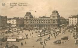 BRUXELLES - Gare Du Nord - Transport (rail) - Stations