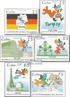 Cuba 4135-4140 (complète.Edition.) Neuf Avec Gomme Originale 1998 Exposition Universelle Expo 2000 - Cuba