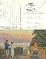 Paul Fischer - Junge Herzen  (Feldpost)        1917 - Künstlerkarten