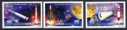 ROMANIA 2008 Space Exploration Set Of 3 MNH / **.  Michel 6273-75 - 1948-.... Republics