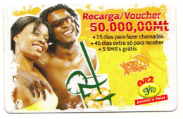 MOZAMBIQUE RECHARGE GIRO 50 000 Mt Année 2007