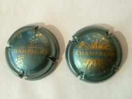 2 CAPSULES DE CHAMPAGNE DIVERS - Champagne