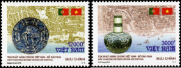 Vietnam Viet Nam MNH Perf Stamps 2016 : Joint Issue With Portugal - Antique / Porcelain / China / Map Of Hoi An - Vietnam