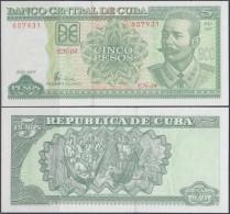 2005-BK-3 CUBA. 5$ ANTONIO MACEO. 2005. UNC PLANCHA - Cuba