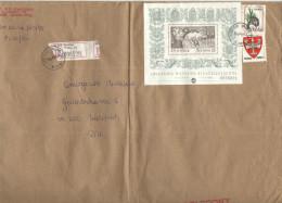 POLONIA - POLSKA - 1995 - Registered - Polecony - 50000 Swiatowa Wystawa Filatelistyczna + 10000 + 2000 - Viaggiata D... - 1944-.... Repubblica