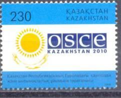 2010. Kazakhstan, Preside Of Kazakhstan In CSCE, 1v, Mint/** - Kazachstan