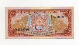 Bhutan - Banconota Da 5  Ngultrum - Usata -  (FDC282) - Bhutan